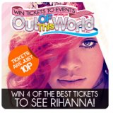 Rihanna's LOUD Tickets to be Won at Xbingo