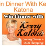 Win a Shopping Trip and Night Out with Kerry Katona