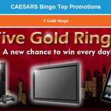 Win iPads,TV's and New York Holiday at Caesars Bingo