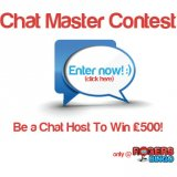 Become a Rogers Bingo Chat Host for the day and win £500